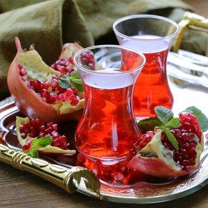Целебная Турция в основе гранатового чая