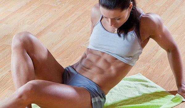 Упражнения для плоского живота в домашних условиях
