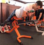 Гиперэкстензия на фитболе техника выполнения какие мышцы работают
