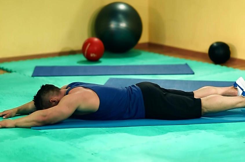 зарядка для похудения талии спины