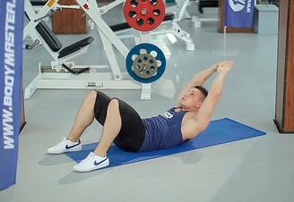 Crunches упражнение
