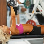 Жим гантелей техника выполнения упражнения