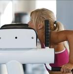 Упражнение Французский жим в тренажере сидя