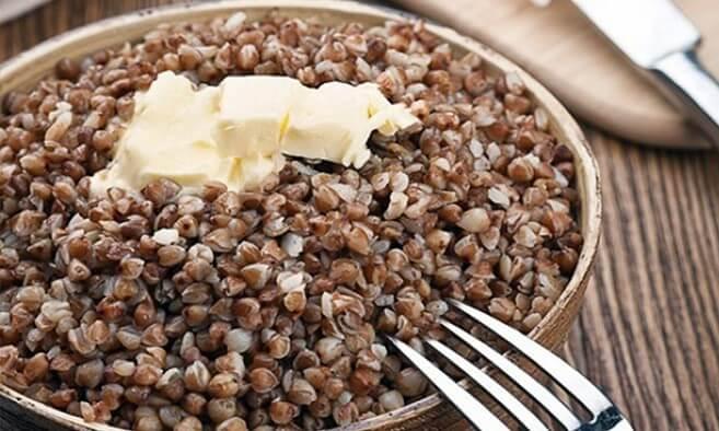 Сколько грамм белка в гречке отварной