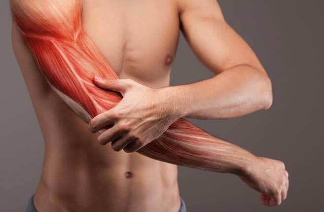Снять боль в мышцах после физической нагрузки