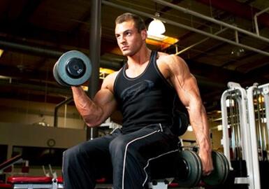 как правильно накачать мышцы
